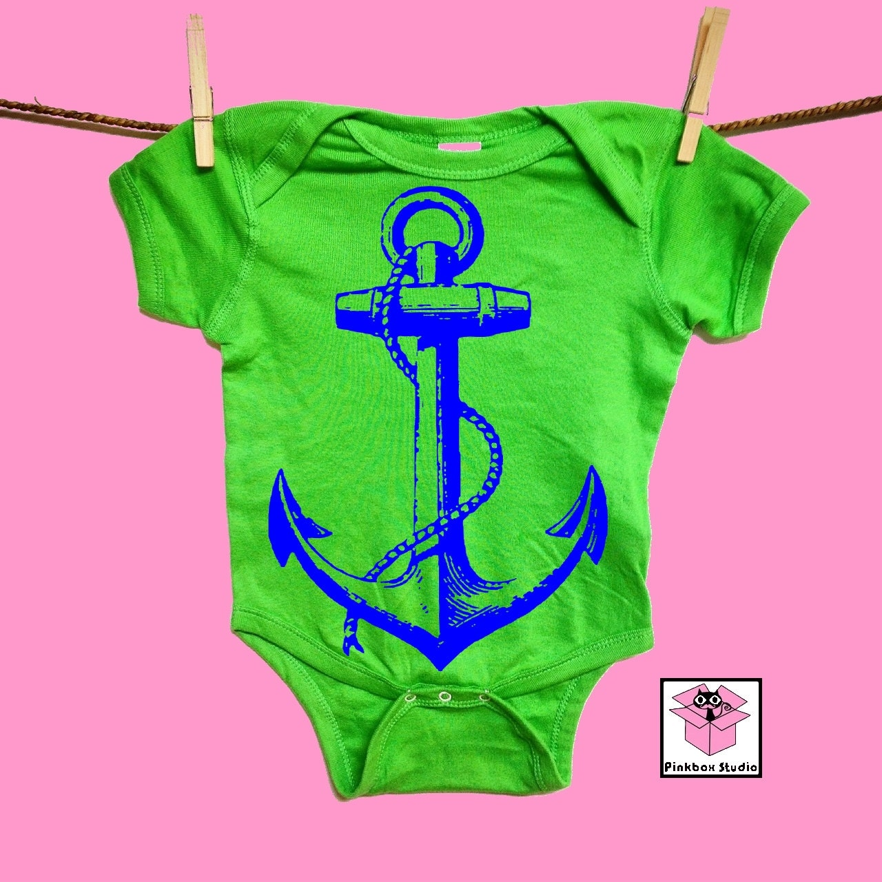 Anchor Nauticalby clothing Baby Shower t baby