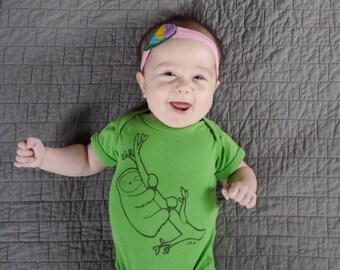 Sloth Baby Bodysuit
