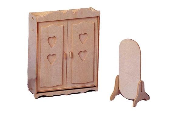 Items Similar To Diy Dollhouse Furniture Kit Miniature