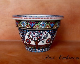 Pysanka Designs Pottery 3 1/2 inches