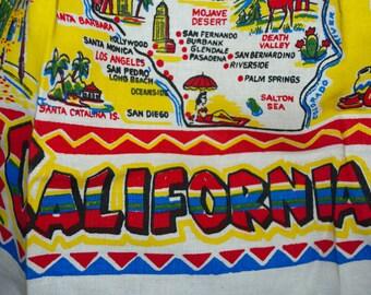 Vintage California Cactus Cloth Apron-MWT