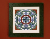 Portugal Tile Cross Stitch Pattern