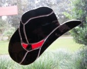 Cowboy/Cowgirl Hat Suncatcher