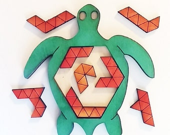 Sea Turtle Puzzle.