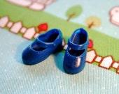 Blythe Royal Blue Cute Mary Jane shoes