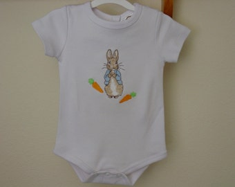 Peter Rabbit Beatrix Potter baby romper/bodysuit