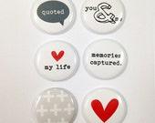Very Merry Flair Badges : Love My Life Set A