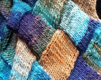 Pattern for Entrelac Scarf