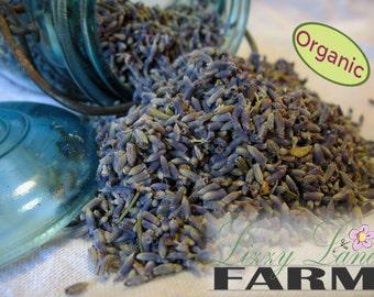 Organic Lavender, Premium Cooking Lavender Buds 1/2 pound. Culinary Lavender