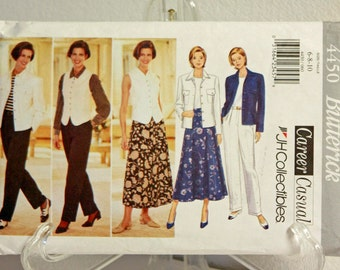Butterick pattern 4450 - Career Casual size 6, 8,10 JH Collectibles