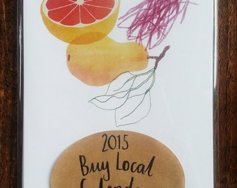 SALE 2015 Buy Local Calendar