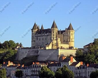 Saumur Castle Loire River Valley France Fine Art Photography Photo Print