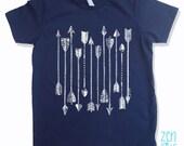 Kids Tee ARROWS Shirt Fine Jersey T-Shirt (+Colors) - FREE Shipping