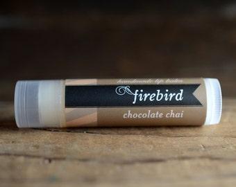 Chocolate Chai Lip Balm, Handmade Lip Balm