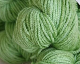 Studio June Yarn, Squishy Soft Worsted, Superwash Merino,Worsted Weight, Color: Wasabi