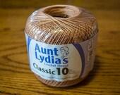Aunt Lydia's Crochet Thread, Size 10 - 350 yards - Copper Mist