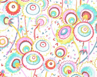 Liberty Fabric Pops and Boo A Pastels Tana Lawn One Yard