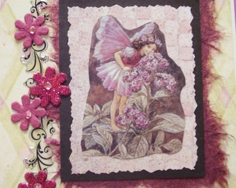 Purple Mulberry Fairy card