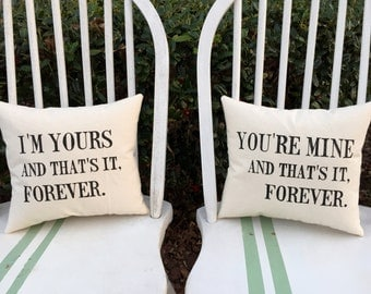 The Avett Brothers, The Ballad of Love and Hate- Customizable Pillow Set