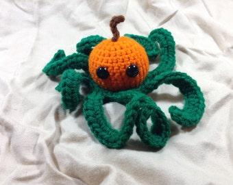 Octopumpkin Amigurumi