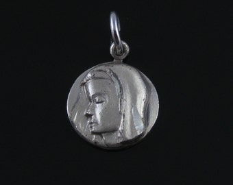 Vintage Saint Mary Sterling Silver Charm