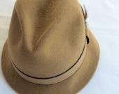 "Vintage Royal Stetson ""Playboy"" man's Dress Hat wool felt"
