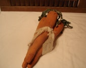 Bundle of 3 Carrots, Primitive, Rustic, Carrots, Easter, Spring, Summer, Ofg, Faap, Hafair, Dub, COSOFG