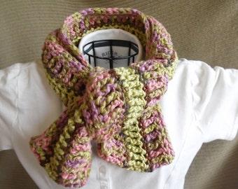 Organic Cotton Clothing Infinity Scarf, Organic Cotton, Spring Mix