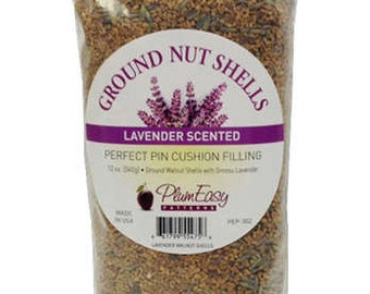 Ground Walnut Shells with Lavender (PEP302) - Plum Easy Patterns