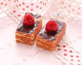 5pc Mille-Feuille Cake Miniature