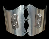 Grinder Waist Corset with Replaceable Grinder Plates