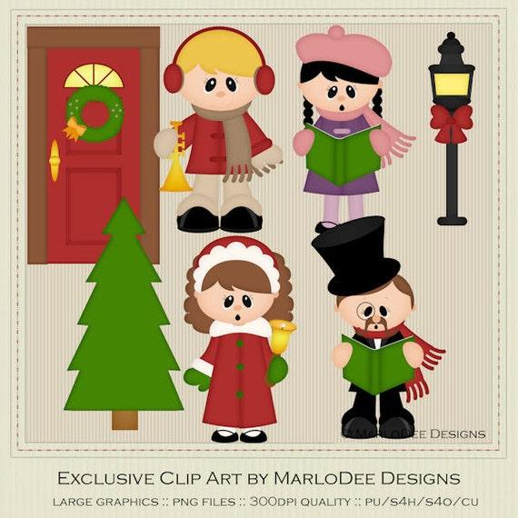 free clipart christmas carolers - photo #26