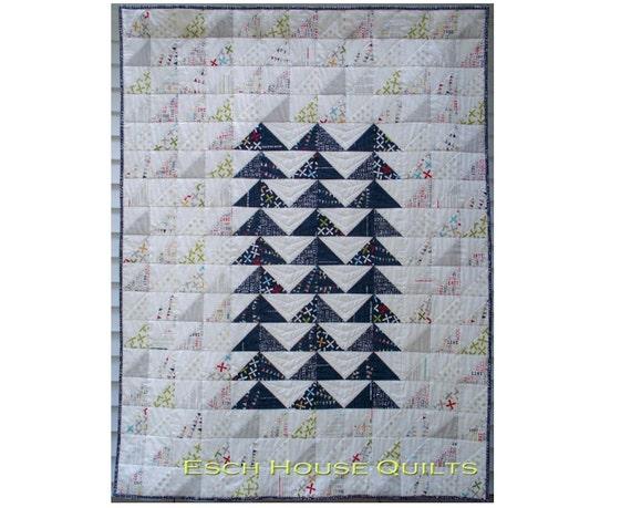 Rebel Flock quilt pattern