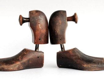 Antique-  Wood- Shoe- Form - Cobbler-  Size 9