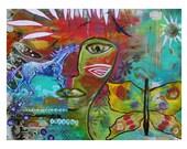 Medicine Warrior - Fine Art Print