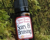 SCAR AND BRUISE Oil - All Natural pure essential oils, apply to scars