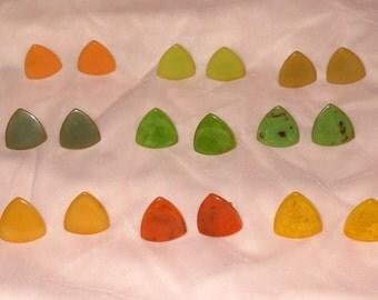 Atomic Bakelite Earrings - Your Choice
