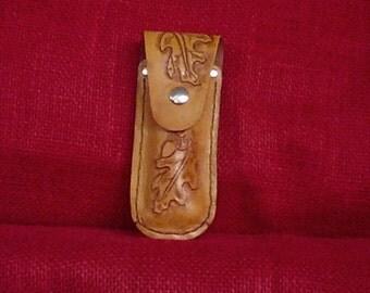 Handcrafted Leather POCKET KNIFE HOLSTER