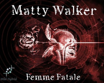 Matty Walker Perfume Oil - 5ml Oakmoss, absynthe, cananga, osmanthus, coconut, lime, palmarosa, petitgrain and virginian cedarwood