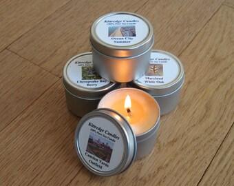 MARYLAND SAMPLER (four 2-oz soy candles)