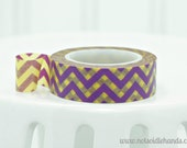 Washi Tape Roll Harry Potter Inspired Colors Chevron Use for Favors, Baby Showers, Weddings, Party, Parties, or Gifts