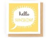 Hello Sunshine - Greeting Card (1-79C)