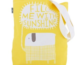 Fill Me With Sunshine - Canvas Shopping Tote (BAG4)