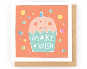 Make A Wish - Greeting Card (1-100C)