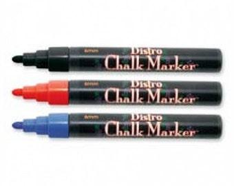 One Bistro Blue Chalkboard Marker