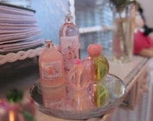 Shabby Pink Toiletries Trays