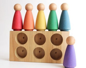 The Rainbow Crew - Girls - Toddler Little People Toy