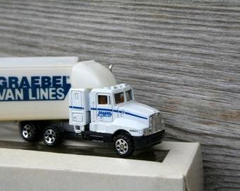 GRAEBEL Van Lines Diecast Truck / 1987/ Collectible