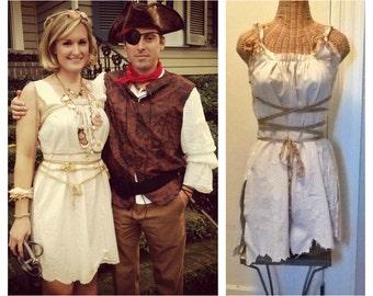 Pirate Corset Dress Special Price Halloween Costume Ship Wreck Shipwreck Voodoo Cave Girl Thriller Boneyard