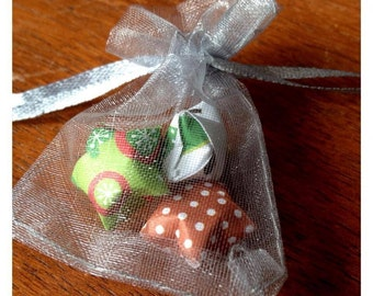 Origami Wedding/Party Favors Favours ~Paper Lucky stars ~Wishing Stars ~Mini bag